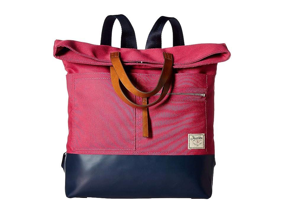 Nautica Mainlander Backpack (Pink) Backpack Bags