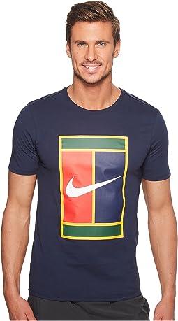 Nike - Court Heritage Logo Tennis Tee