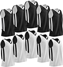 reversible basketball practice jerseys