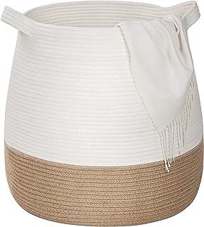 Kosz prania z uchwytami z tkaniny juty, salon Kocowy kosz, uchwyt, poduszka, kosz do podnoszenia ręcznika