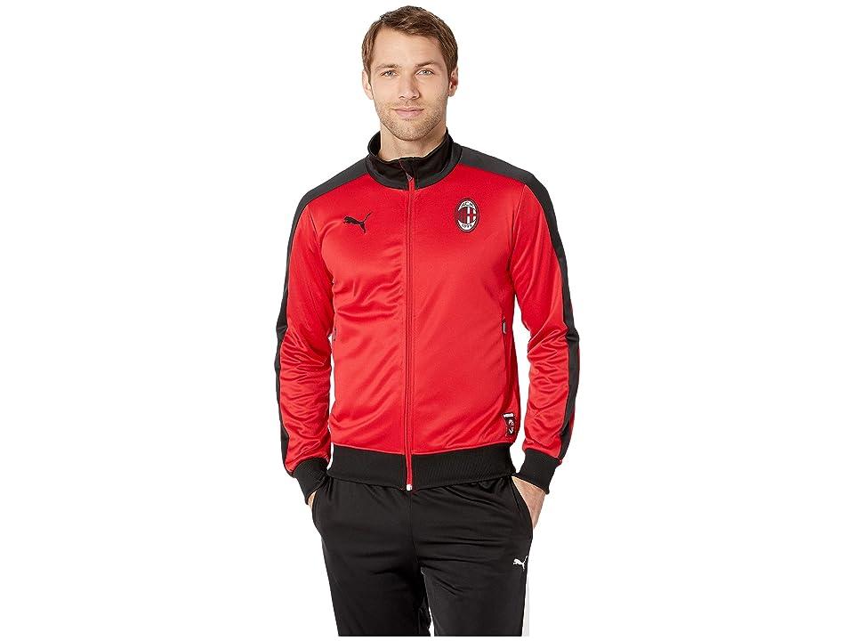 PUMA AC Milan T7 Track Jacket (Tango Red/PUMA Black) Men
