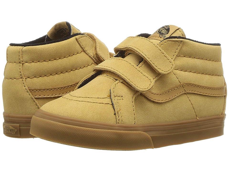 Vans Kids Sk8-Mid Reissue V (Infant/Toddler) ((MTE) Vansbuck/Apple Cinnamon) Boys Shoes