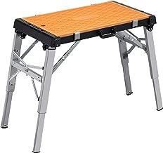Meister universal de banco de trabajo, 4funciones en 1✓ de banco/mesa de trabajo decoración de pedalada taburete ✓–Roll Tabla de taller ✓ transporte Roller | 9079600