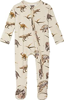 Baby Rompers Pajamas - Newborn Sleepers Boy Clothes - Kids One Piece PJ - Soft Viscose from Bamboo
