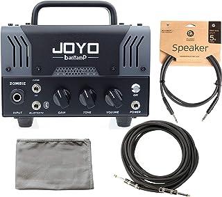Joyo BanTamp Zombie Modern Hi Gain 20W Tube Amp Head w/ Cloth and 2 Cables