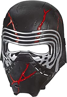 Star Wars: The Rise of Skywalker Supreme Leader Kylo Ren Force Rage Electronic Mask For Kids Role-Play & Costume Dress Up,...