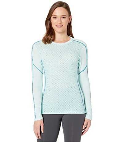 Helly Hansen Lifa Merino Graphic Crew (Blue Tint) Women