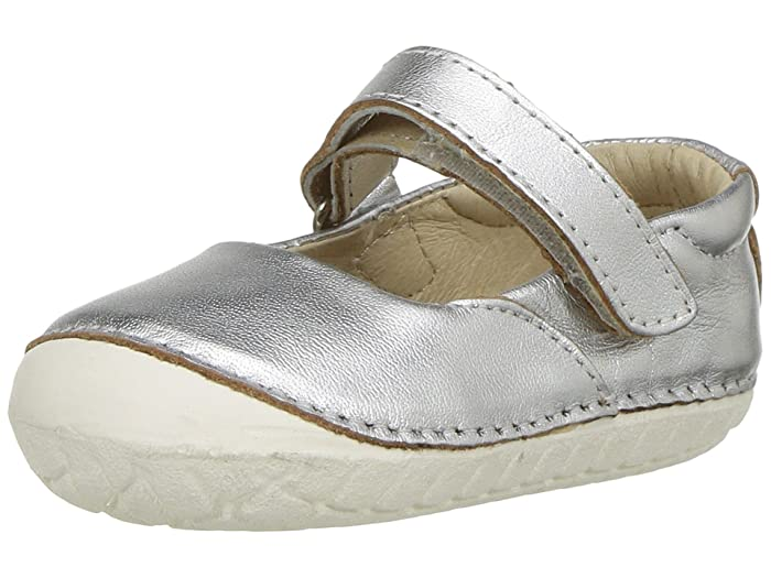 Old Soles Pave Jane (Infant/Toddler) (Silver) Girls Shoes