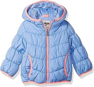 OshKosh B'Gosh Baby-Girls Perfect Puffer Jacket Down Alternative Jacket
