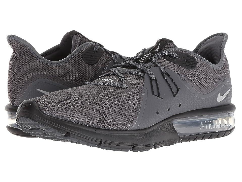Nike Air Max Sequent 3 (Dark Grey/Metallic Silver/Black) Men