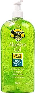 Banana Boat Aloe Vera Gel After Sun - Crema AfterSun Refrescante y Reparadora de la Piel Gel Hidratante 453 g (58369)