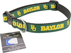 product image for All Star Dogs Baylor Bears Ribbon Dog Collar