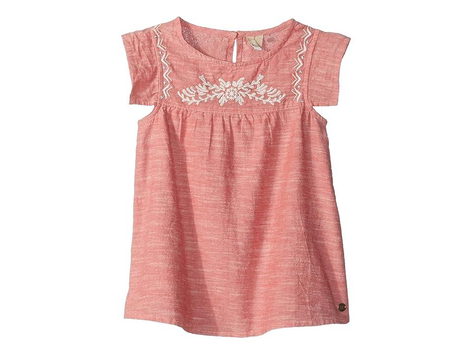 Roxy Kids Let It Shine Dress (Toddler/Little Kids/Big Kids) (Mineral Red) Girl