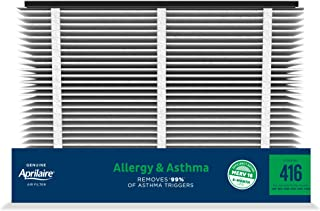 Best Aprilaire - 416 A2 416 Replacement Air Filter for Whole Home Air Purifiers, Allergy, Asthma, & Virus Filter, MERV 16, (Pack of 2) Reviews