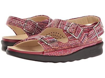 SAS Relaxed (Rainbow Red) Women