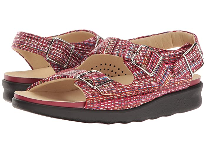 SAS Relaxed (Rainbow Red) Women's Shoes
