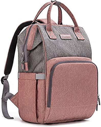 Diaper Bag Backpack Nappy Bag Upsimples Baby Bags for Mom and Dad Maternity Diaper Bag with USB Charging Port Strolle...