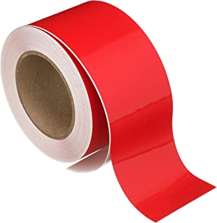 Seachoice 77933 Self-Adhesive Boat Striping Tape – 3 Mil Vinyl – 2 Inch x 50 Feet – Red