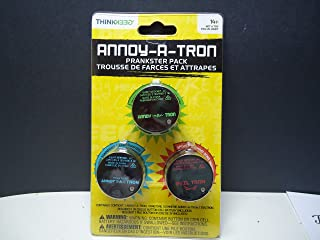 ThinkGeek Annoy-a-tron Prankster Pack 3.0 - Includes 3 ThinkGeek Prank Products: Annoy-a-tron, Ringtone Annoy-a-tron, and Eviltron