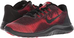 f82c305dbf40 Nike flex 2015 run dark grey black white gym red