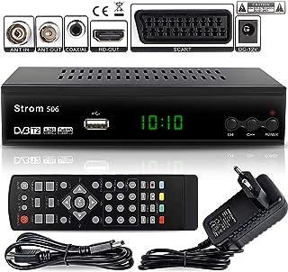 Strom 506 – TNT HD Decodeur TNT HD Pour TV / Recepteur TNT HD / Adaptateur TNT..