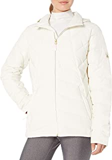 Spyder Women's Syrround Hoody Down Jacket, Marshmallow, Medium