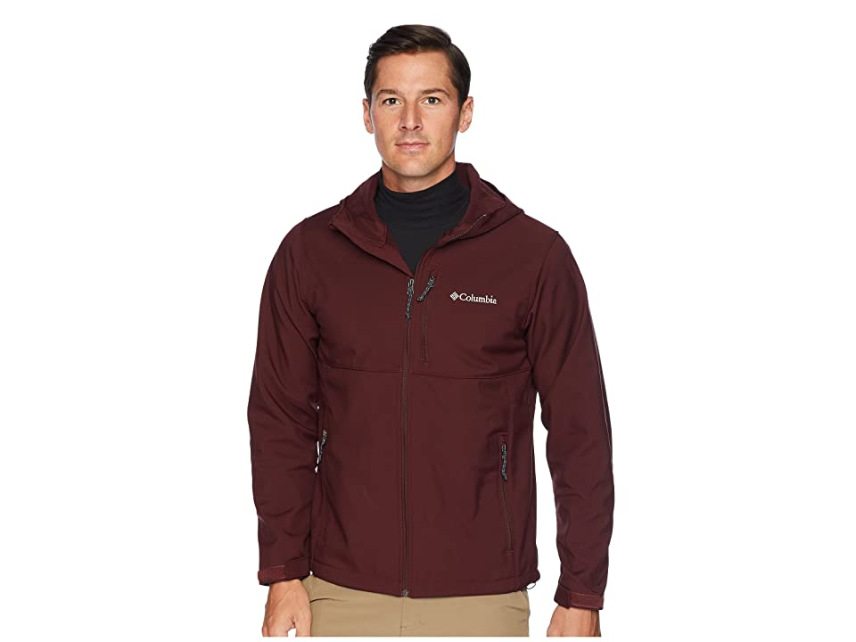 Columbia Ascendertm Hooded Softshell Jacket (Elderberry) Men