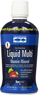 Trace Minerals Research Liquimins Liquid Multi Vita-mineral-berry, 30 Ounces Bottle