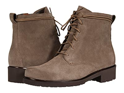 Munro Finnley (Taupe Suede/Metallic Welt) Women
