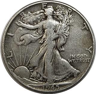 1945 P Walking Liberty Half Dollar 50c Very Fine