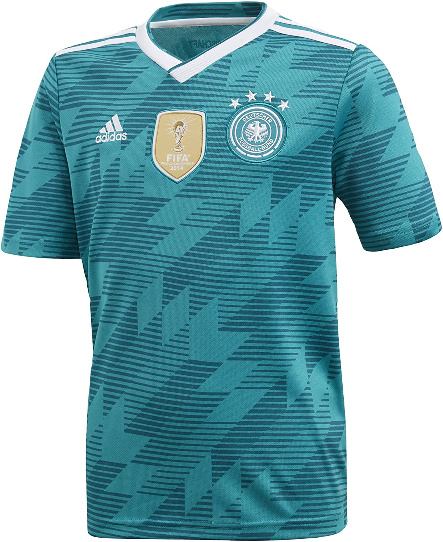 Adidas Youth Soccer Germany Away Soccer (Small)