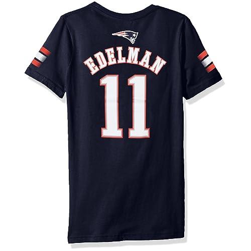 pretty nice d22d9 92cf3 Edelman Patriots Jersey: Amazon.com