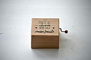 Caja de música Eres el estribillo de mi canción favorita. Melodía: La vie en rose.
