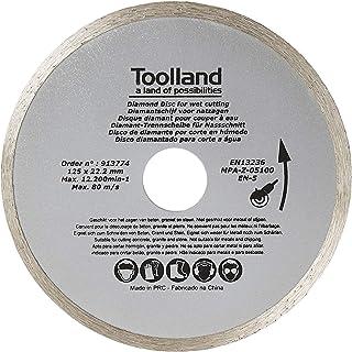 TOOLLAND - BD20125 diamantslijpschijf, continu, 125 mm diameter 174701