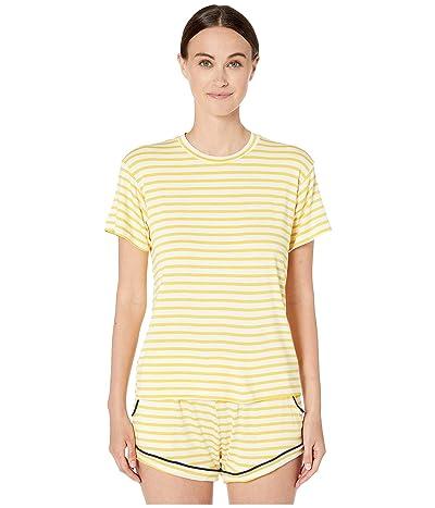 Maison Du Soir Luca T-Shirt (Yellow Stripe) Women