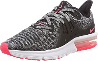 Kids Nike Girls Max Sequent 3 Low Top Lace Up Walking Shoes