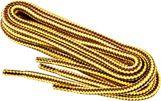 Round Shoe Laces For Work Boots Shoes, Health And Safety Boots, Strong Weave