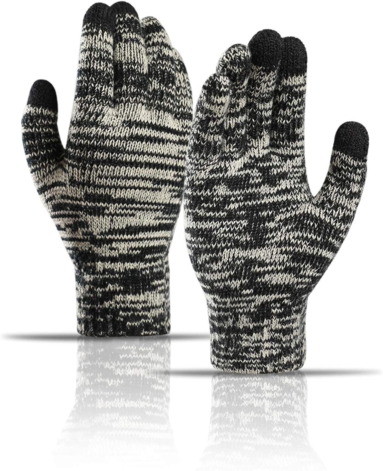 Cheap bargain Winter New popularity Knit Gloves Touchscreen Warm Thermal Soft Colorful