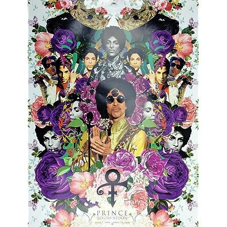 SUPERBE Prince Toile Photo #1 PURPLE RAIN MUSIC A1 A3 Photo sur toile libre p/&p