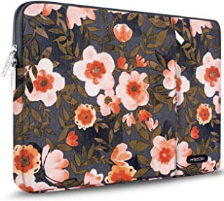 HSEOK Golden Flower Laptop Sleeve 15-15.6 Inch Case for Most 15.6
