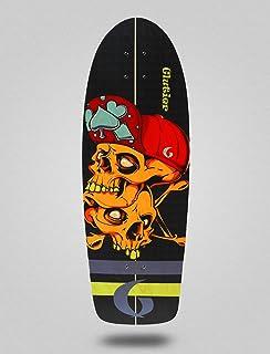 Glutier Surfskate Deck Hip Skulls 30,5 Surf Skate ...