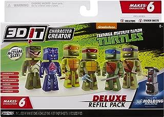 3D Character Creator Teenage Mutant Ninja Turtles Deluxe Refill Pack Novelty Toy