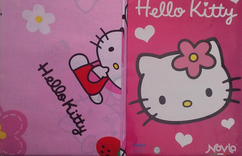 Novia Completo Letto Singolo Hello Kitty Amazon It Casa E Cucina