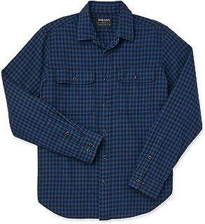 Scout Shirt Blue Black Check Size Medium