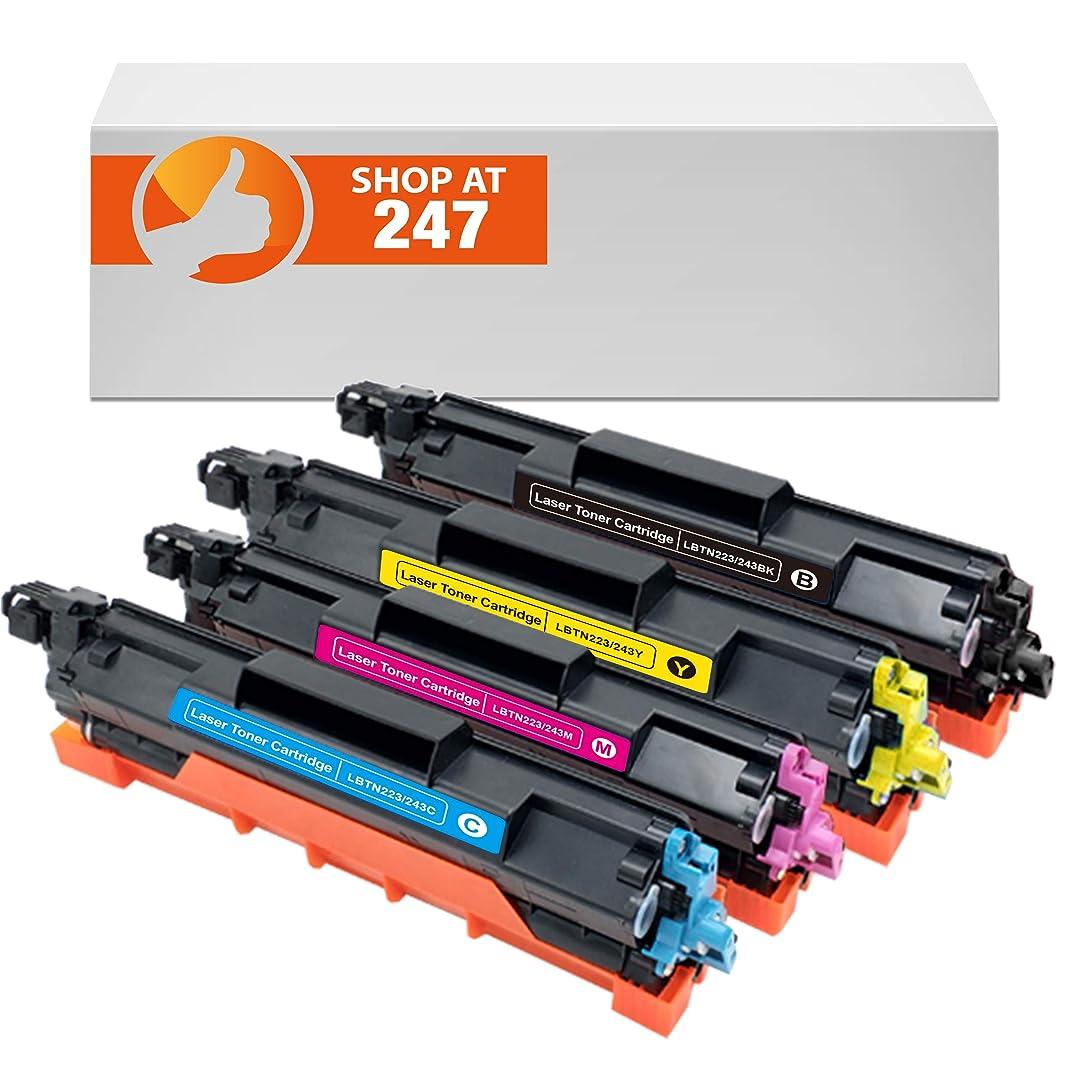 Shop 247 Replacement Compatible for TN223 / TN227 Toner cartridges