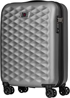Wenger 604338 Lumen Hardside Carry-On Luggage, Silver, 55 Centimeters