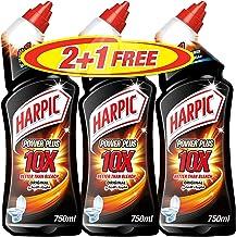 Harpic Toilet Cleaner Liquid Power Plus Original, 750ml 2 + 1 Free