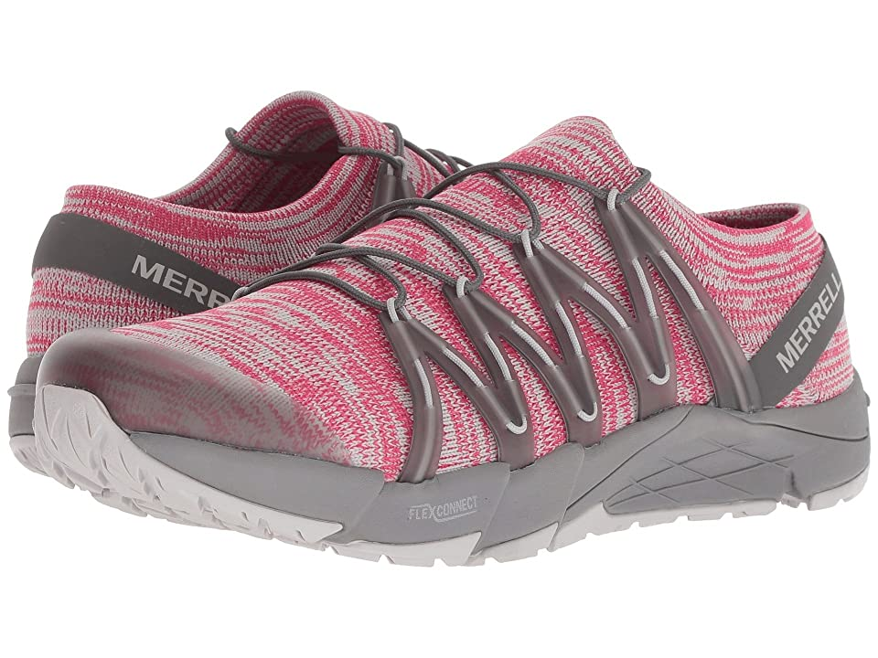 Merrell Bare Access Flex Knit (Rose Red) Women