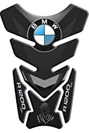 STICKER resin gel 3D BEAK FRONT compatible Motorcycle BMW GS R1250 CARBON