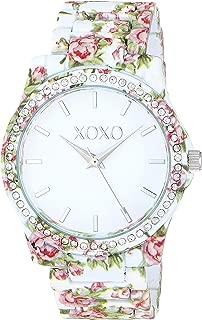 XOXO Women's Analog-Quartz Watch with Alloy Strap, Multi, 7.7 (Model: XO5896)